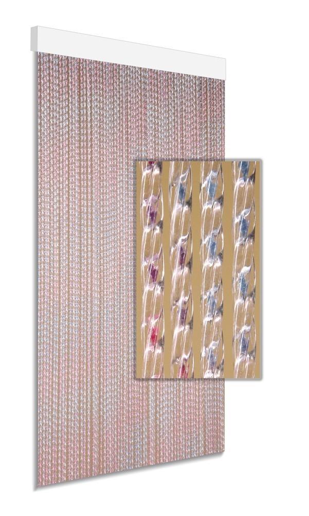 DEGOR Vliegengordijn multicolor: blauw paars