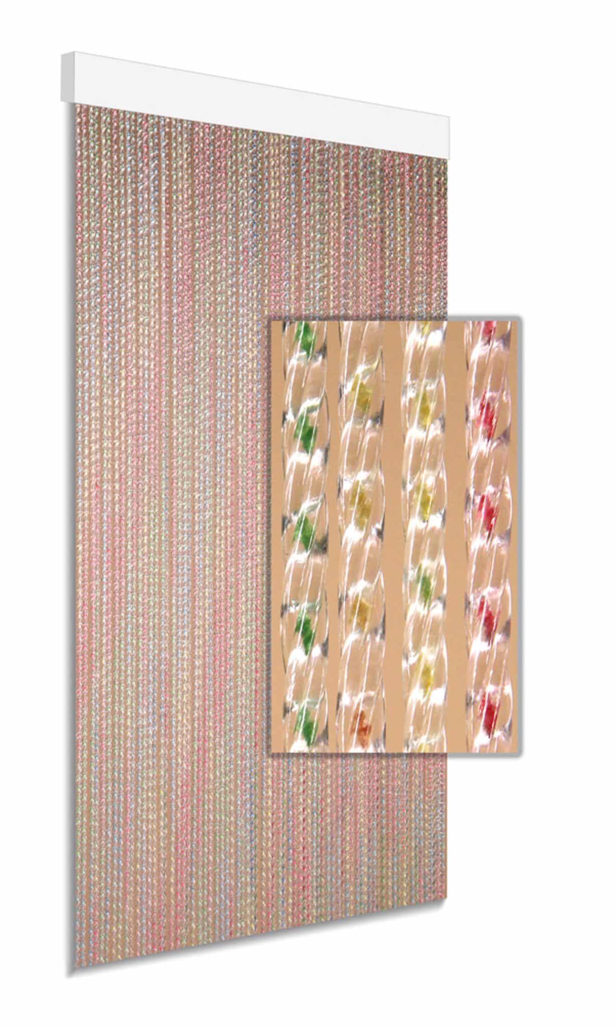DEGOR Vliegengordijn multicolor: pastel