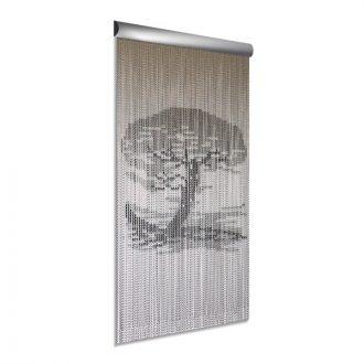 DEGOR Vliegengordijn aluminium: Bonsai