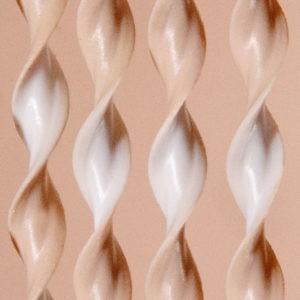 Vliegengordijn: Art.21 beige-wit