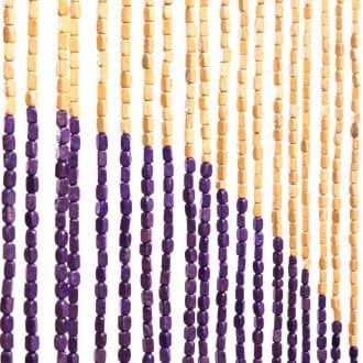 Vliegengordijn houten kralen: Sunsetjn houten kralen: Planeten