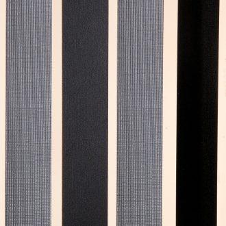 Vliegengordijn Linten HQ - zilver/zwart