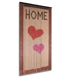 Vliegengordijn houten kralen: Home